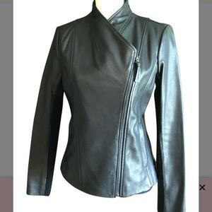 Mackage cleo leather jacket black